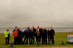 Groepsfoto fotoduik Bommenede Haven