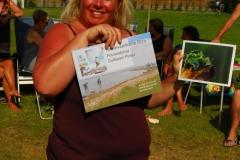 Sylvia wint de 1e prijs in de fotowedstrijd van het Hemelvaartkamp voor onderwater en krijgt een uitvergroting van een foto naar keuze.